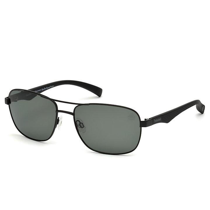 Polarized Plastic Frame Navigator Sunglasses-