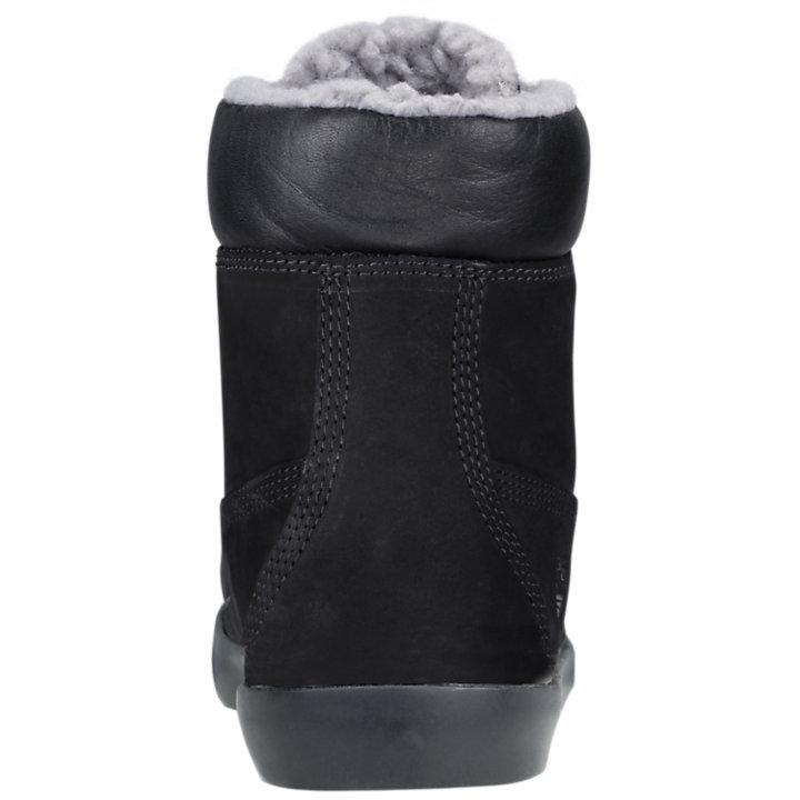 Women's Flannery 6-Inch Fleece Panel Boots-