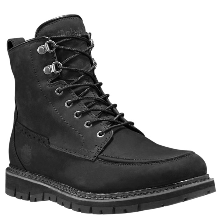 Men's Britton Hill Moc Toe Waterproof Boots-