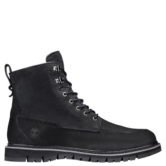 Men's Britton Hill Moc Toe Waterproof Boots