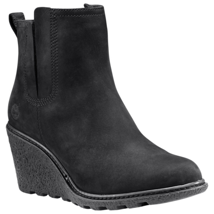 Women's Amston Chelsea Wedge Boots-