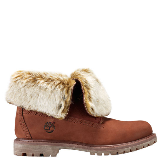 d36f3450a66d Women s Timberland Authentics Faux Fur Fold-Down Boots