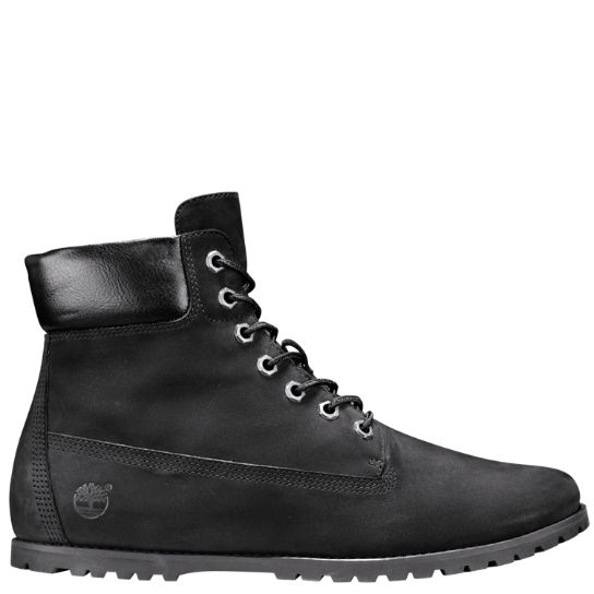 timberland 6 inch boots womens black