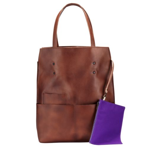 Cilley Leather Shopping Bag-