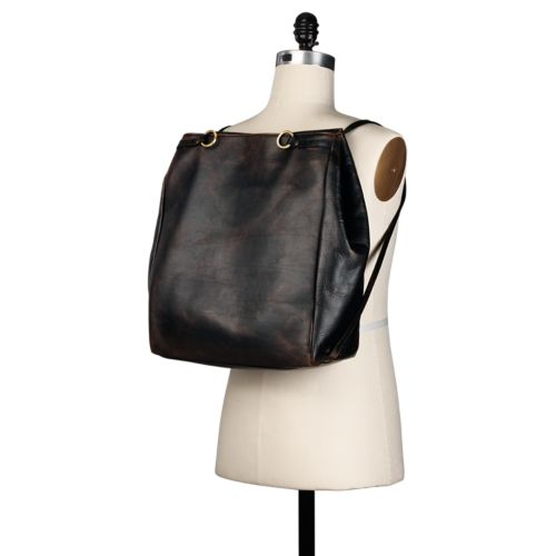 Henniker Convertible Leather Bag-