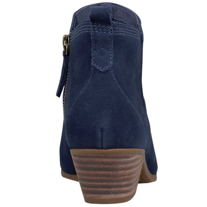 Women's Carleton Side-Zip Suede Ankle Boots-
