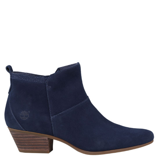 Women's Carleton Side-Zip Suede Ankle Boots