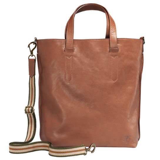 Bellows Falls Leather Tote Bag