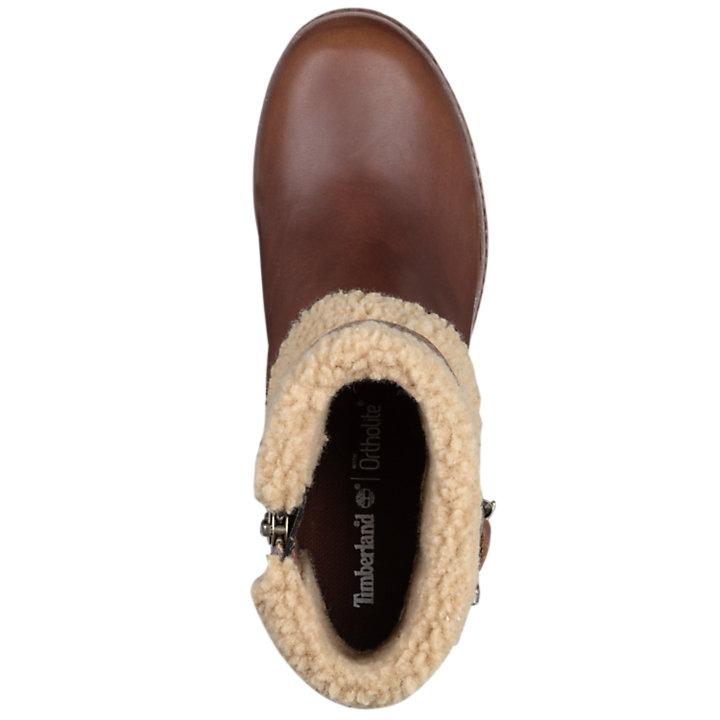 Women's Glancy Fleece Fold-Down Boots-