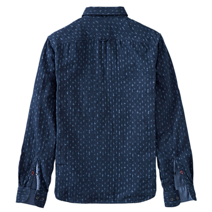 Men's Parker River Slim Fit Double-Layer Shirt-