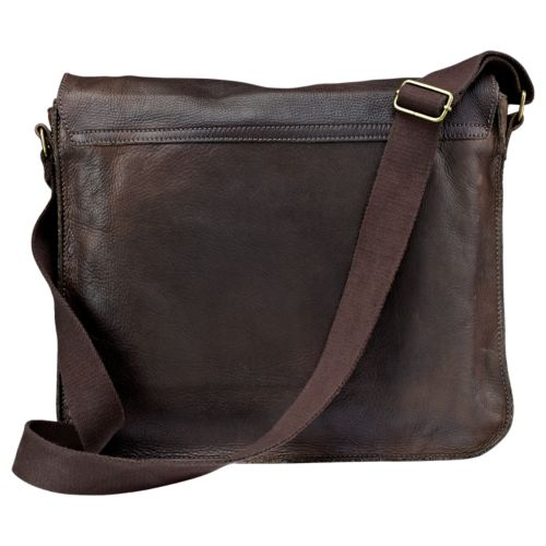 Adkins Leather Messenger Bag-
