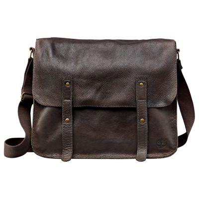 Adkins Leather Messenger Bag
