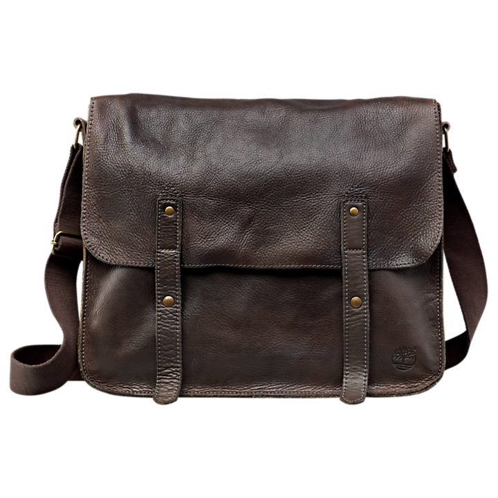 Adkins Leather Messenger Bag-