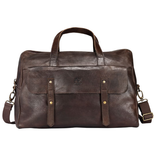 Adkins Leather Duffle Bag