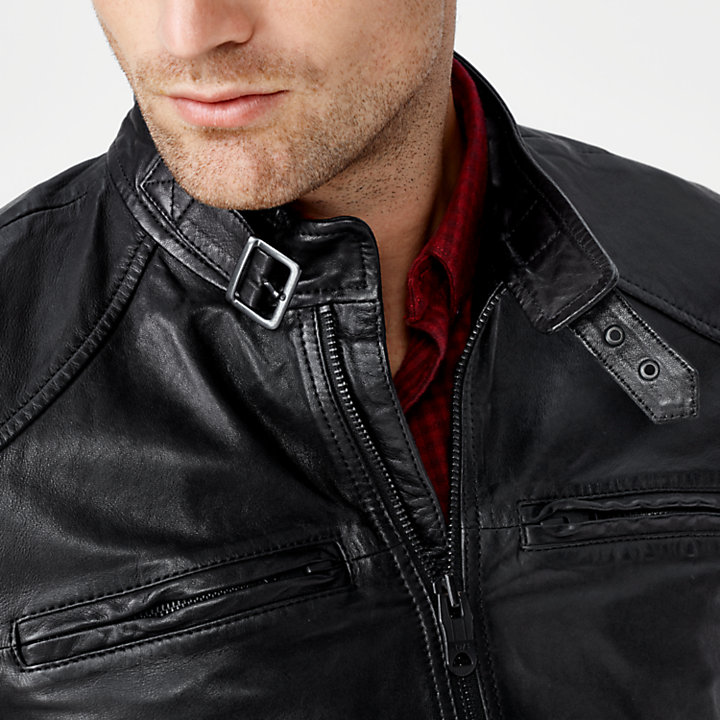 Men's Skye Peak Insulated Leather Jacket-