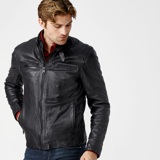 Men's Skye Peak Insulated Leather Jacket