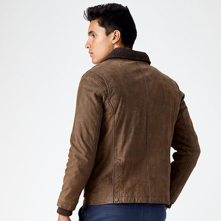 Men's Tenon Leather Field Jacket-