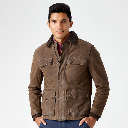 Men's Tenon Leather Field Jacket