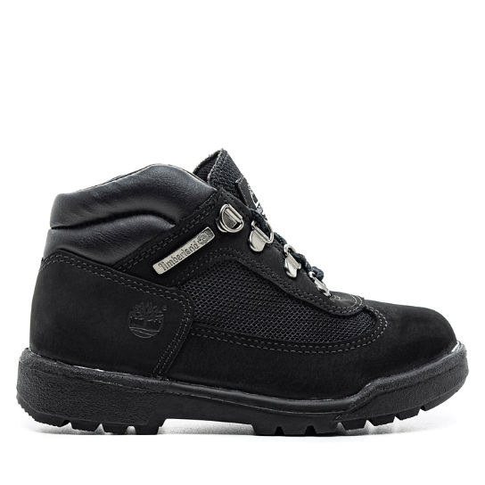 Youth Leather/Fabric Mid Field Boots