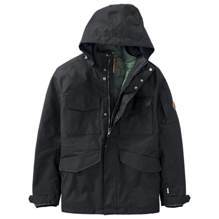 Men's 3-in-1 Waterproof Field Jacket-