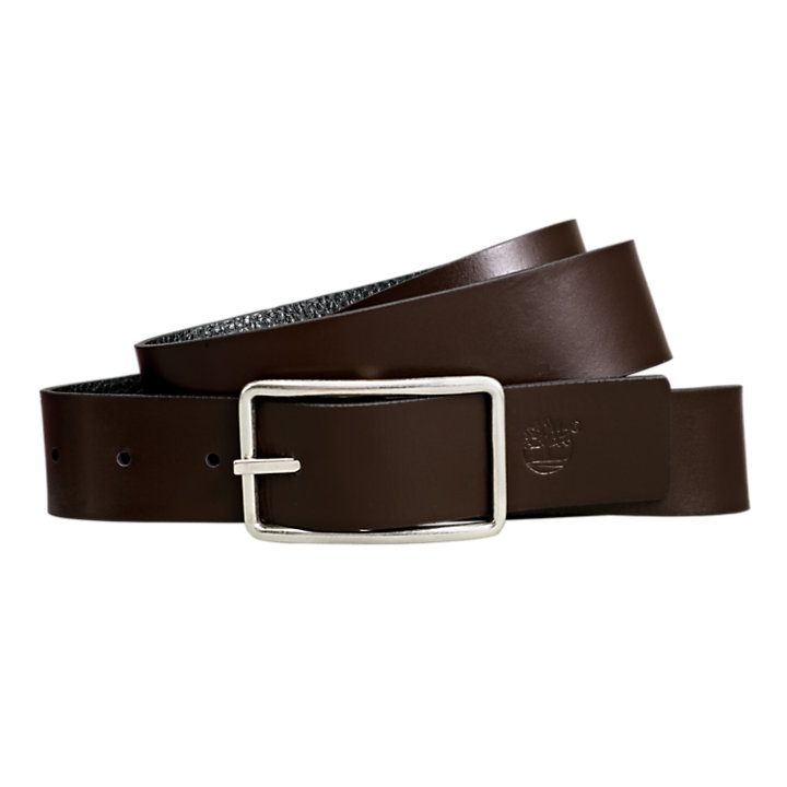 Men's Classic Reversible Leather Belt-