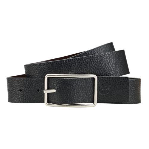 Men's Classic Reversible Leather Belt-