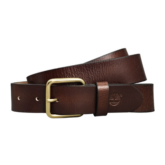Men's Casual Buffalo Leather Belt
