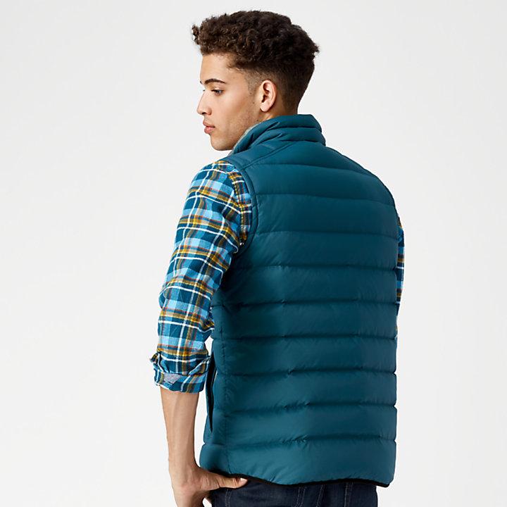 Men's Bear Head Packable Down Vest-