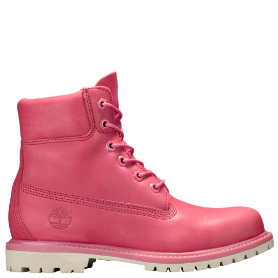 Pink Boots For Women New Premium Waterproof Timberland