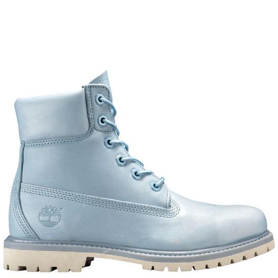 Timberland 6 Inch Premium WP Boot Damen Stiefel Blau