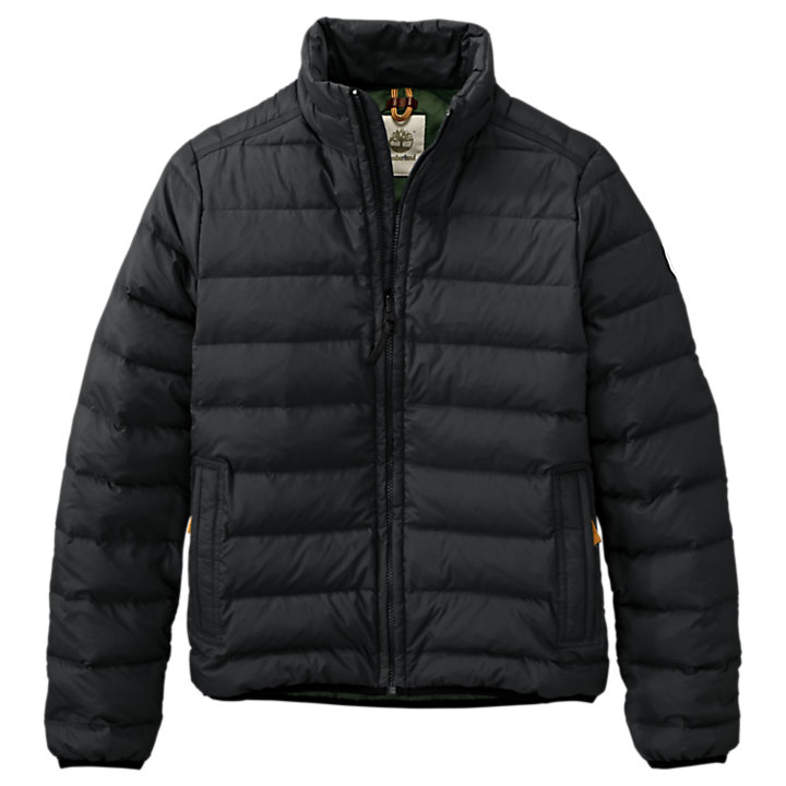 Men's Bear Head Packable Down Jacket-