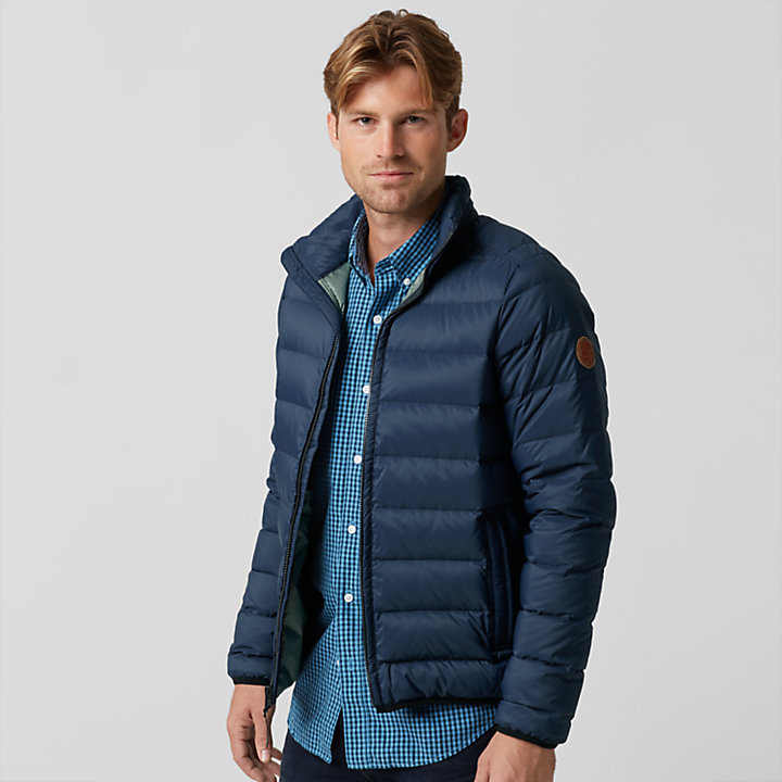 Men's Bear Head Packable Down Jacket-