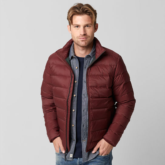 Men's Bear Head Packable Down Jacket