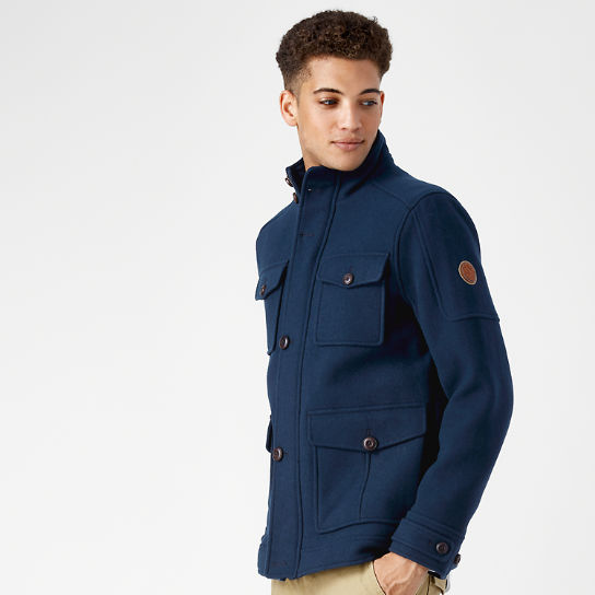 Men's Moxie Mountain Wool Field Jacket
