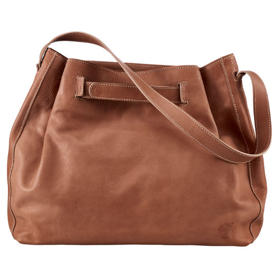 Bellows Falls Leather Shoulder Bag