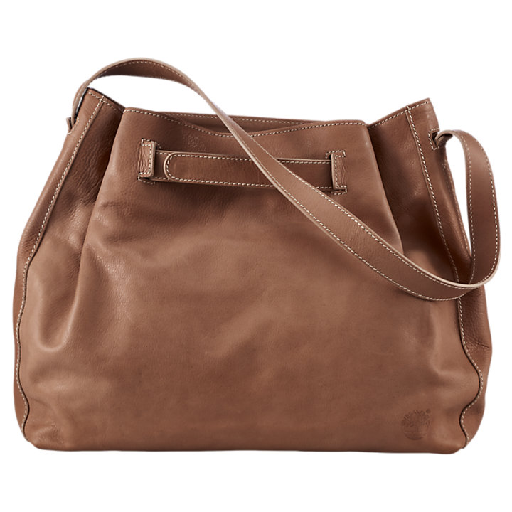 Bellows Falls Leather Shoulder Bag-