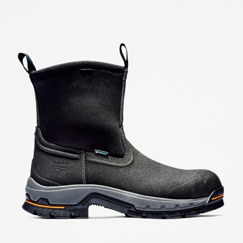 Men's Timberland PRO® Stockdale Alloy Toe Wellington Work Boots-