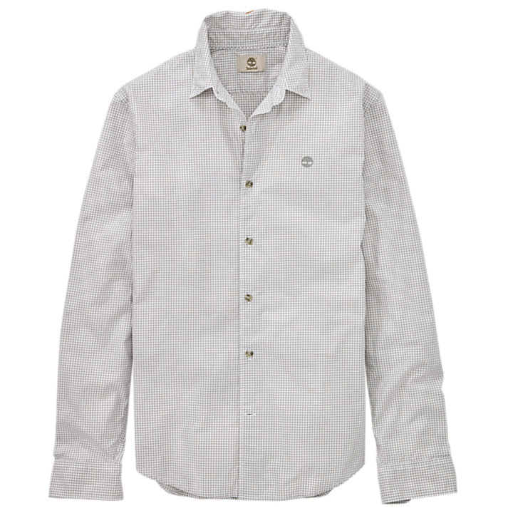 Men's Rattle River Slim Fit Gingham Shirt-