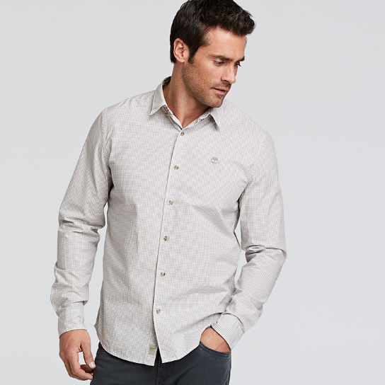 Men's Rattle River Slim Fit Gingham Shirt
