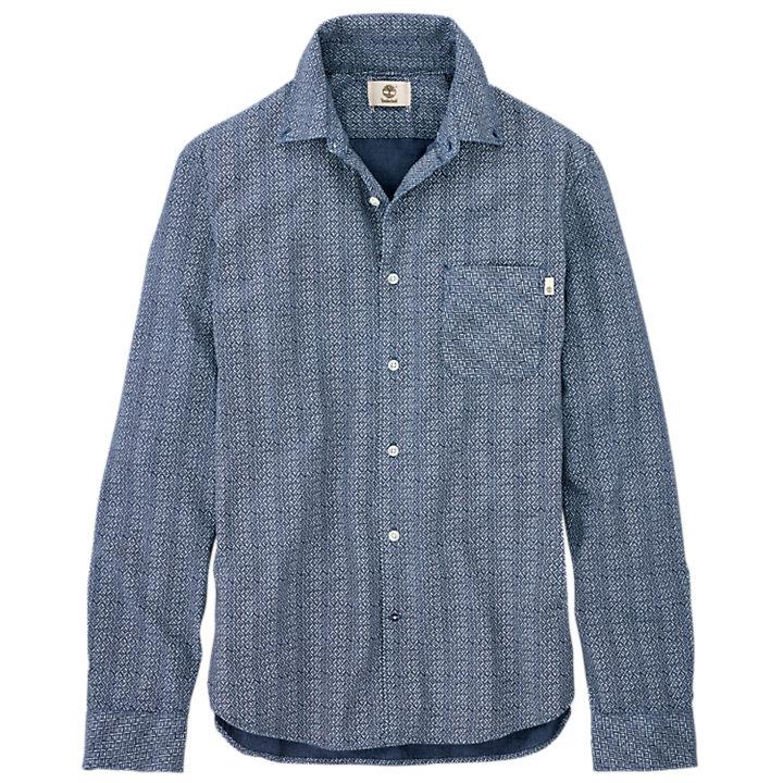 Men's Slim Fit Patterned Shirt-