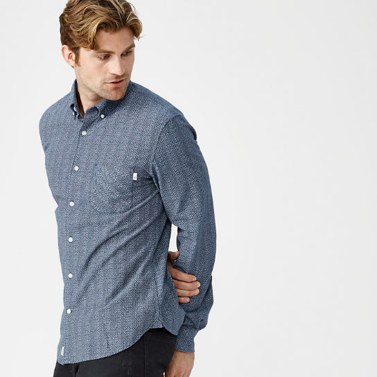 Men's Slim Fit Patterned Shirt