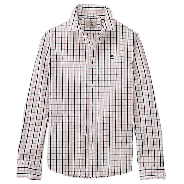 Men's Slim Fit Poplin Medium Plaid Shirt-