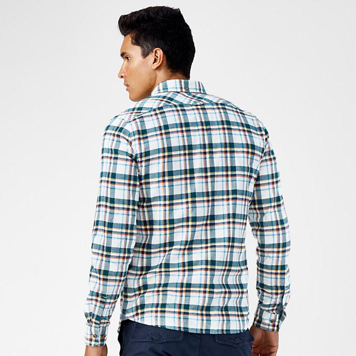 Men's Slim Fit Plaid Flannel Shirt-