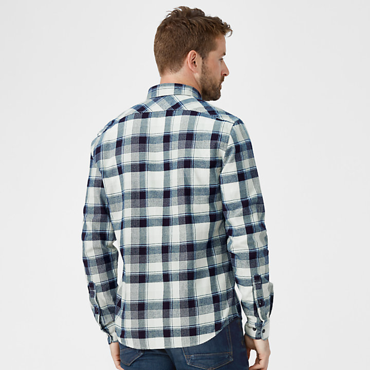 Men's Slim Fit Lightweight Flannel Shirt-