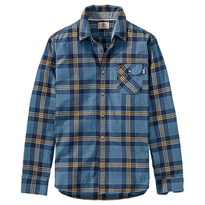 Men's Essential Twill Plaid Shirt-