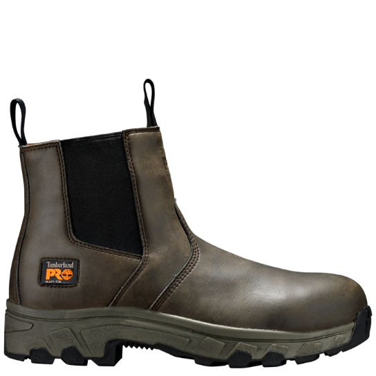 Men S Timberland Pro Linden Chelsea Alloy Toe Work Boots Timberland Us Store