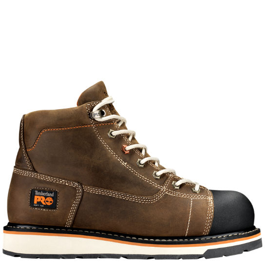 "Men's Timberland PRO® Gridworks 6"" Soft Toe Work Boots"