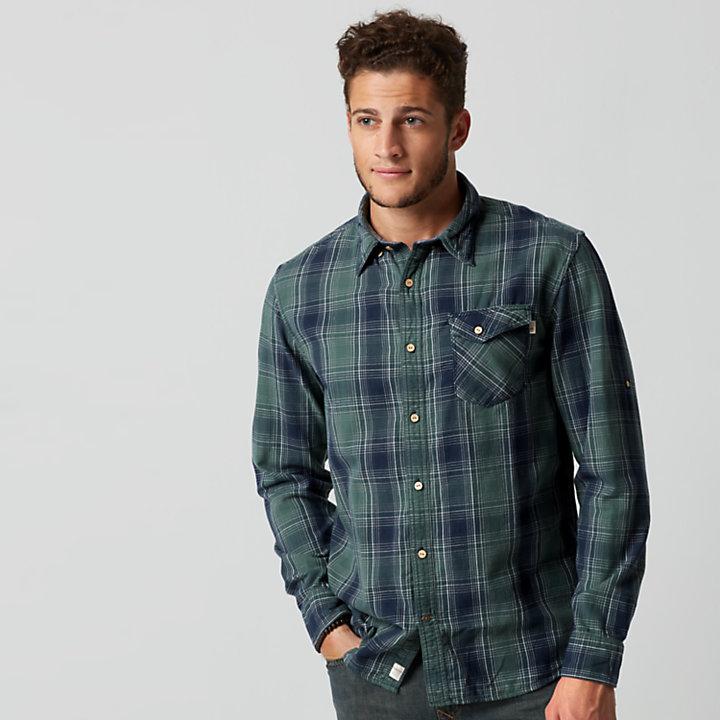 cf4fd9ec539e Men's Double-Layer Roll-Tab Plaid Shirt | Timberland US Store