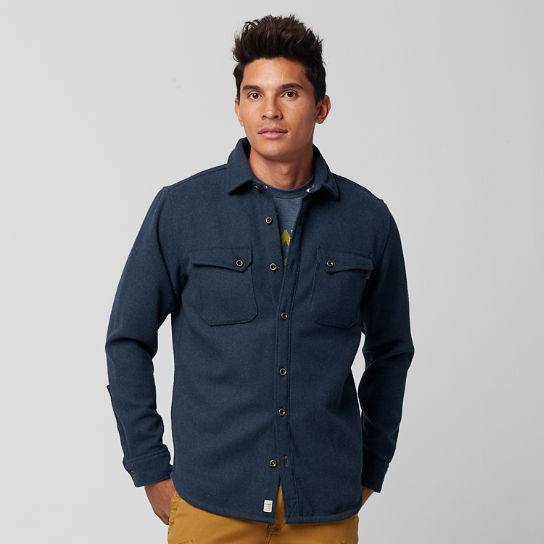 Men's Bass River Wool Blend Shirt