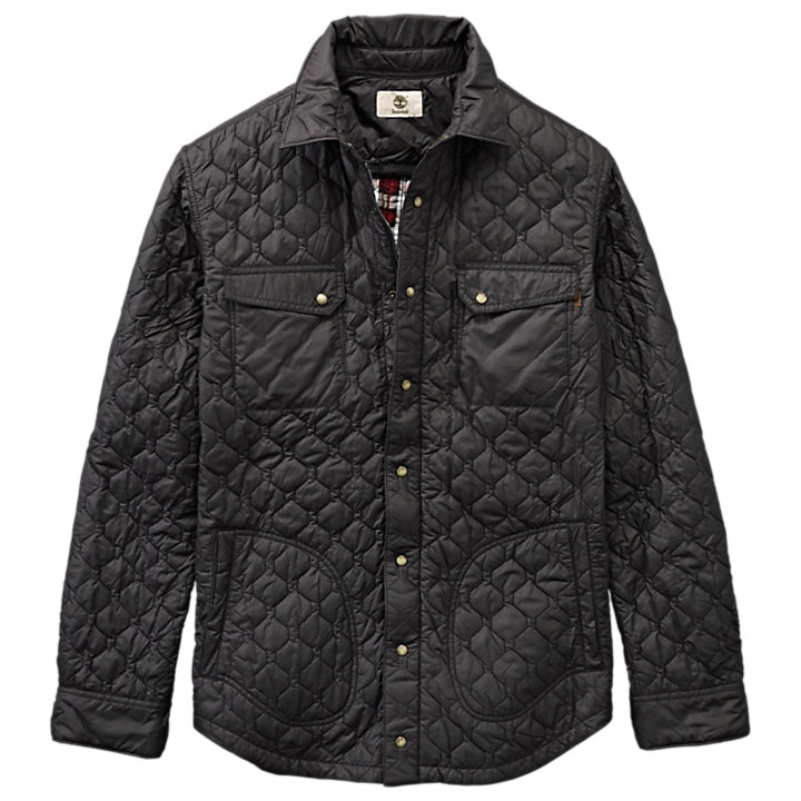 Men's Bass River Lightweight Quilted Shirt Jacket-